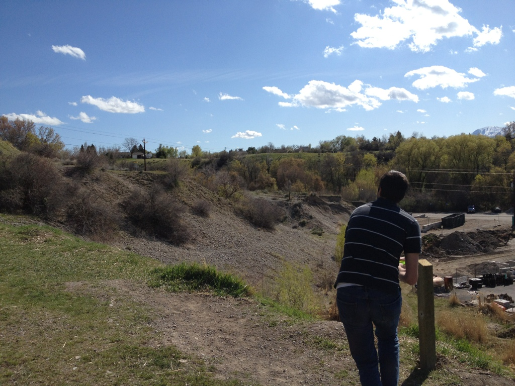 Hole #9 - Cache Valley Frisbee Golf Course