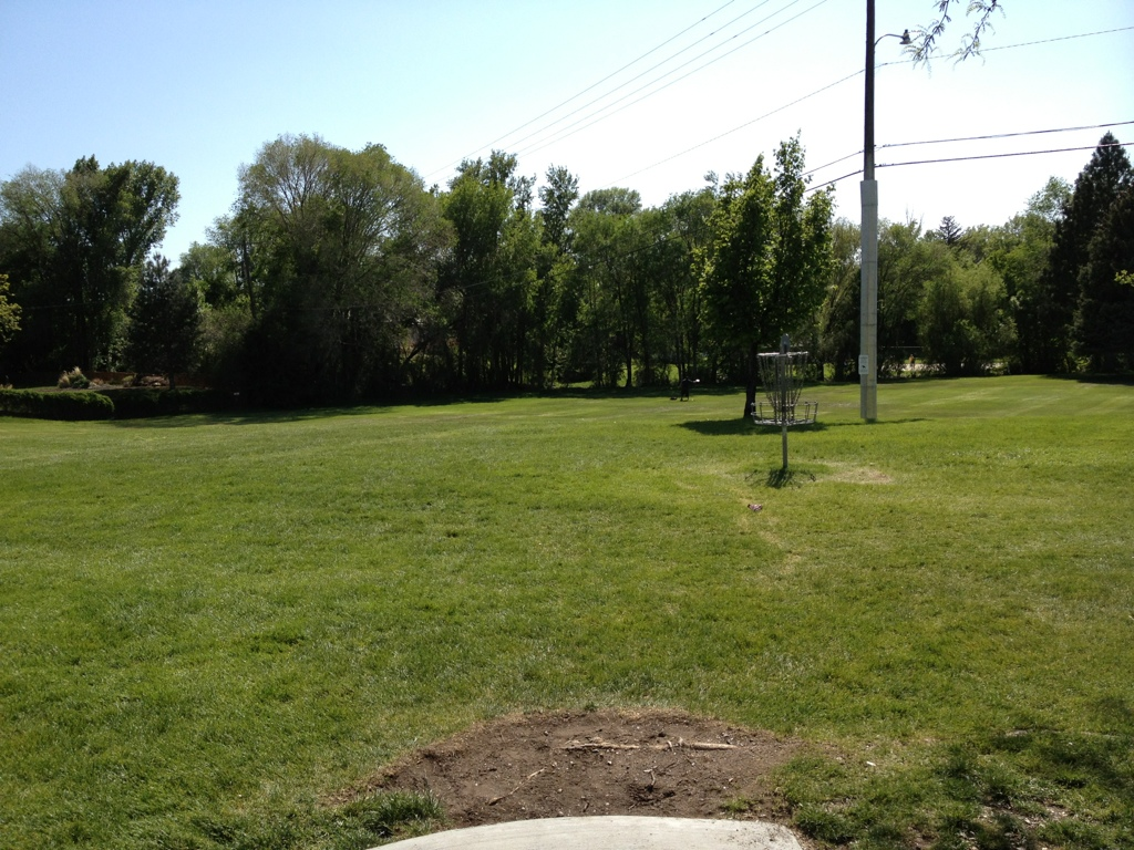 Launch Area #1, Disc Golf Course in Brigham City Utah