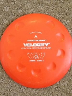 Ching Velocity Golf Disc