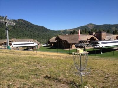Snowbasin Disc Golf Course in Huntsville Utah