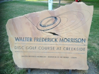 Walter Morrison Disc Golf Course at Creekside, Salt Lake City UT