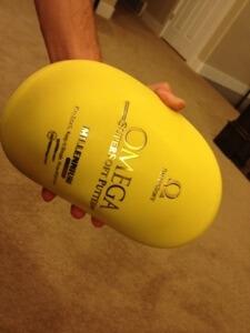 Millennium Omega Super Soft Putter - Best Disc Golf Putter!