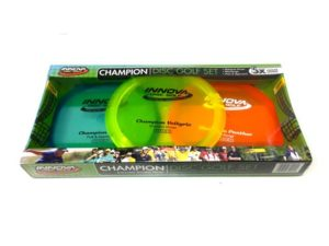 Durable Plastic Innova Disc Golf Set