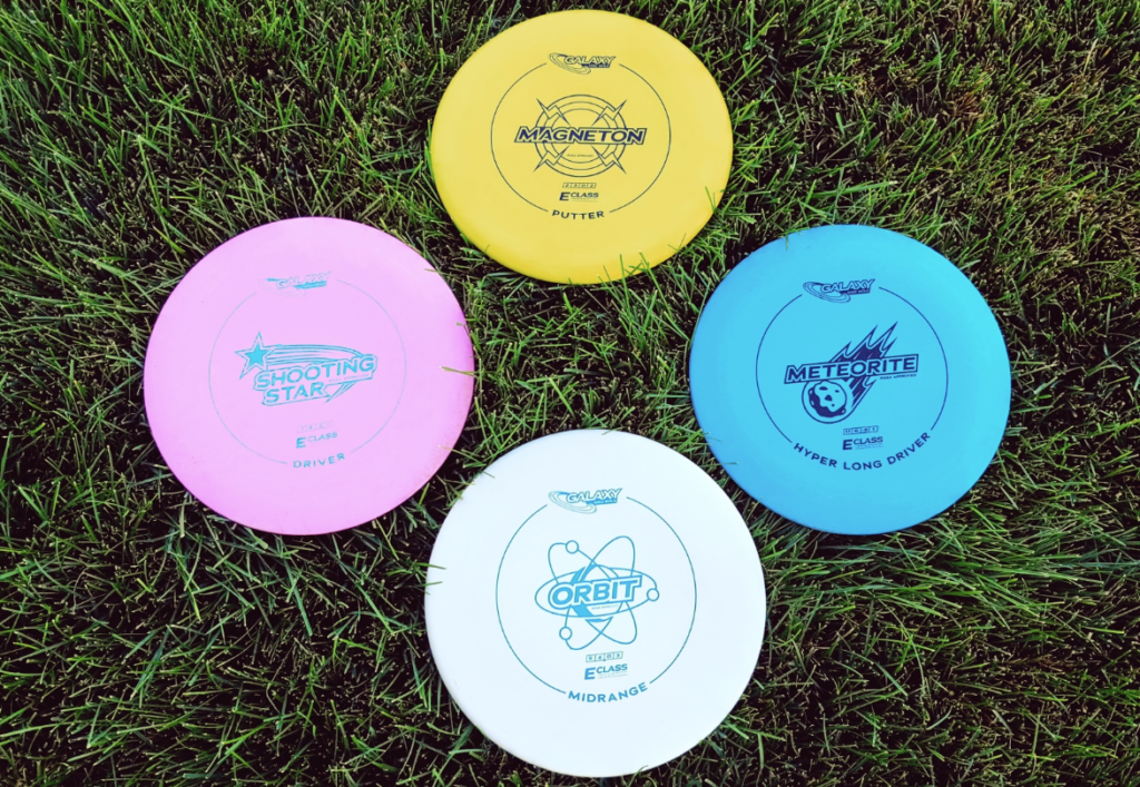 Galaxy Disc Golf Discs