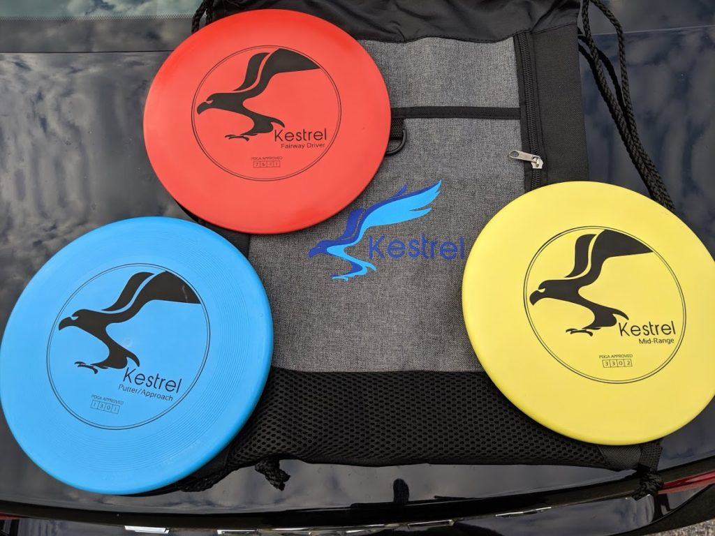 Kestrel Disc Golf Set