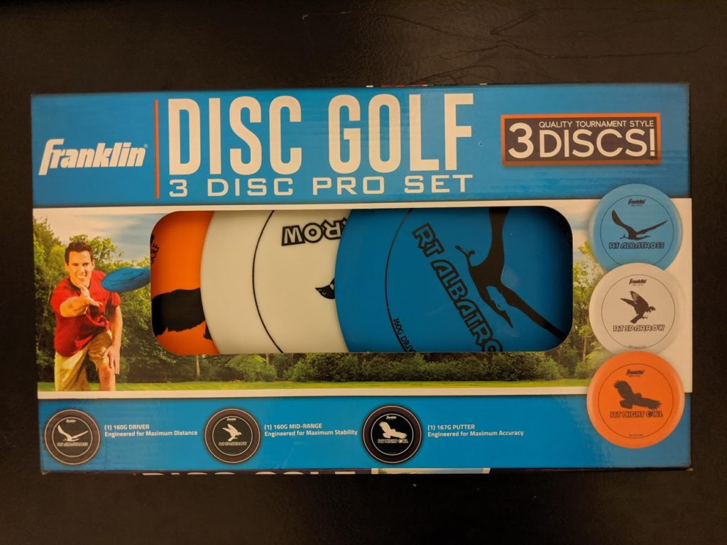Franklin Disc golf sett