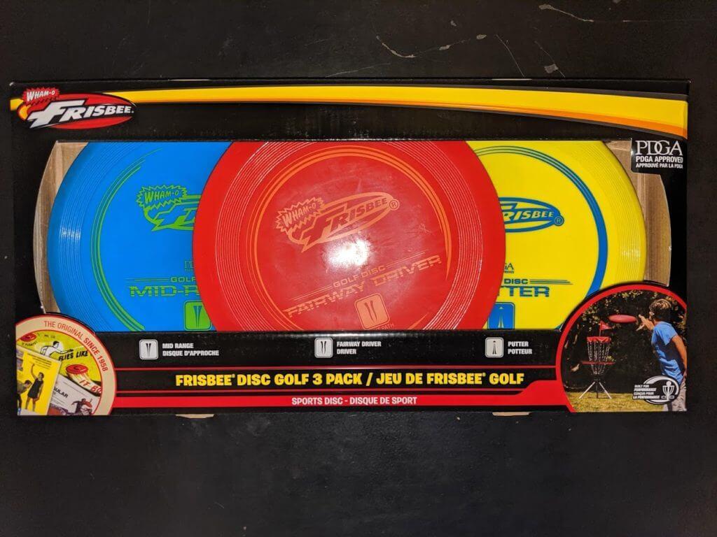 WhamO Frisbee Golf Set