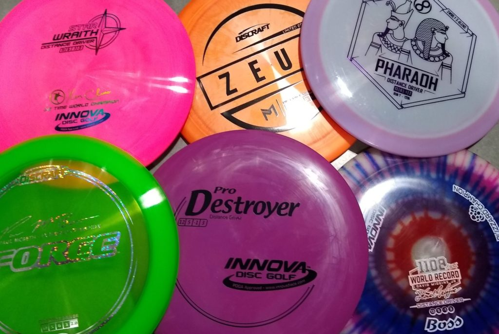 disc golf distance drivers