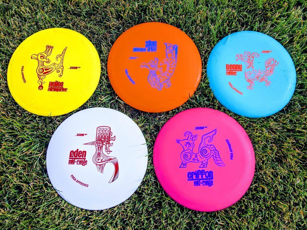 XCom brand Frisbee Golf Discs