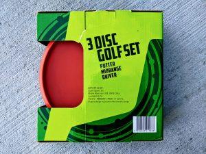 Sune Sport Disc Golf Set