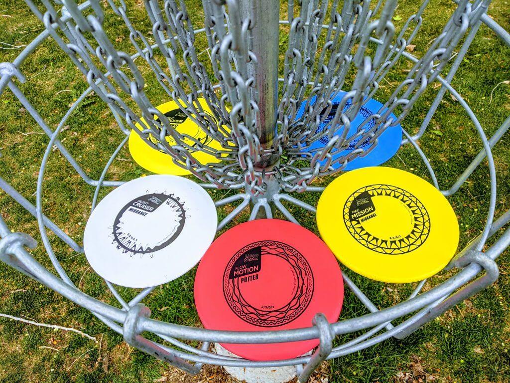 Sune Sport Discs in Light Weight Plastic